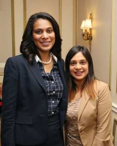 Tasha Cruzat and Erica Avila