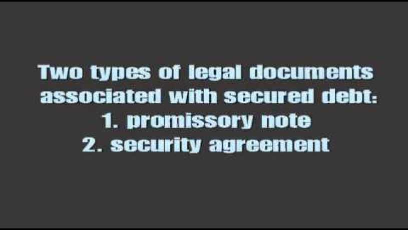 Are Secured Debts Discharged in Chapter 7