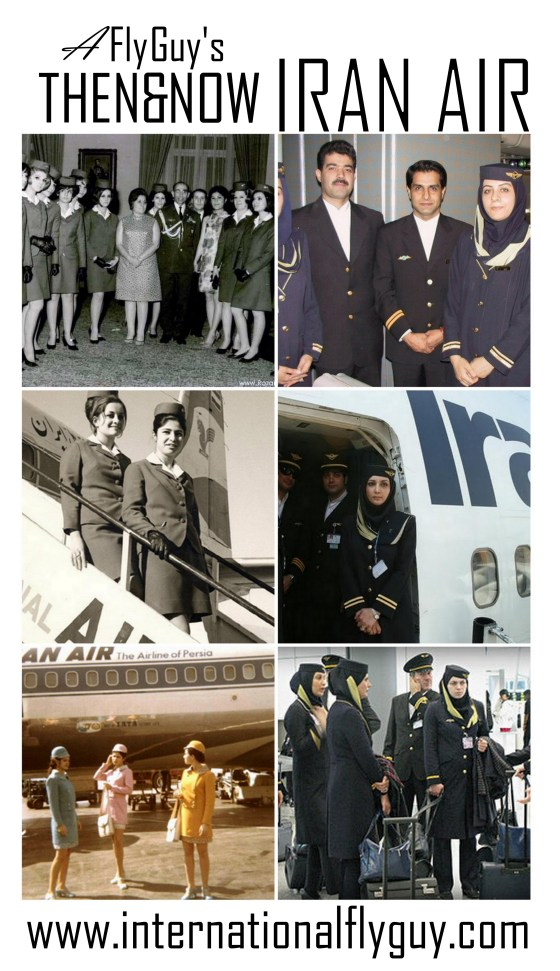 Then and Now Iran Air