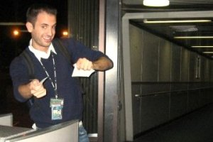 Working as a gate agent for US Airways