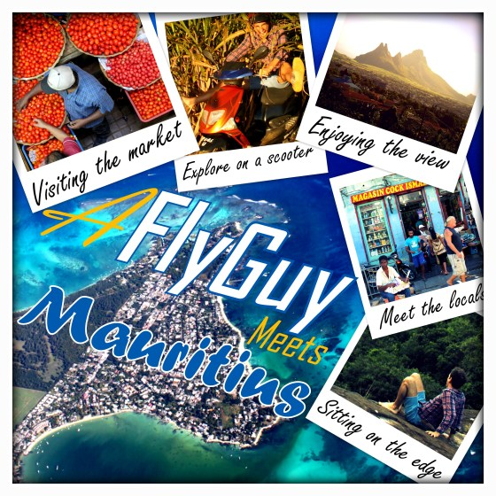 Fly Guy meets Mauritius