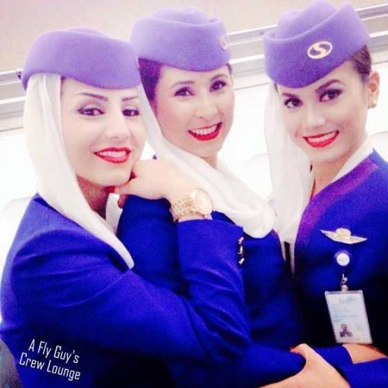 Safi AIrways selfie