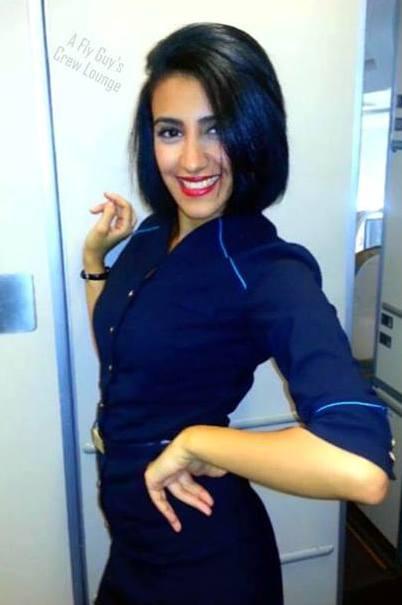 Oman Air Selfie
