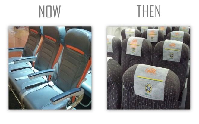 GOL's New Seats