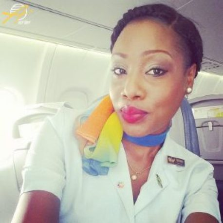 LIAT flight attendant