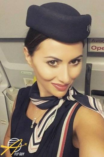 Aegean Airlines cabin crew