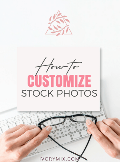 How to customize and edit stock photos (change colors, remove objects, etc)