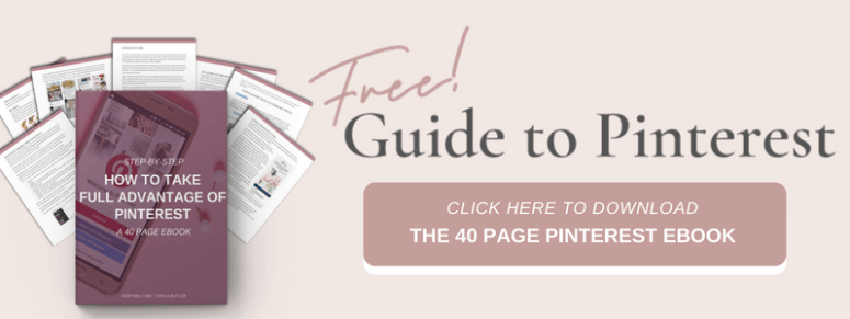 Free Guide to Pinterest Marketing
