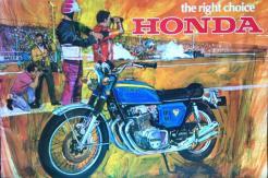 Honda CB750 1969 prototype 04