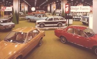 1974 Chicago Auto Show Mitsubishi Dodge Colt 2