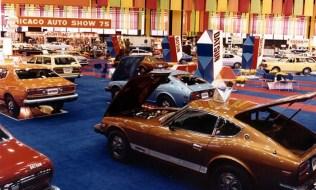 1975 Chicago Auto Show Datsun