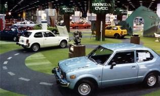 1975 Chicago Auto Show Honda