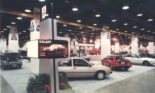 1986 Chicago Auto Show Mitsubishi