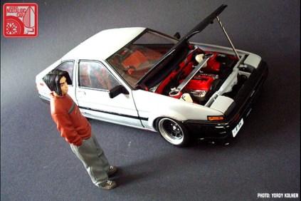 Yordy Kolner 1-18 Toyota AE86 11