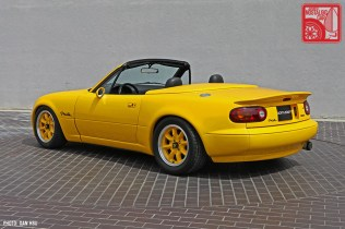 51-6277_Mazda MX5 Miata_Chicago Auto Show yellow Club Racer 02