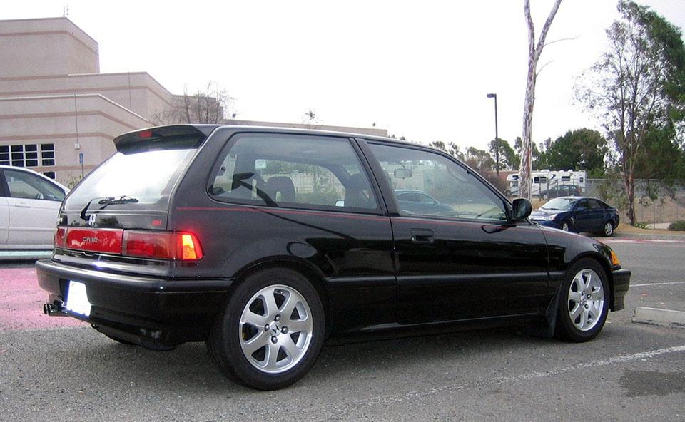 KIDNEY, ANYONE? Bubble Economy Honda Civic Si trio ...