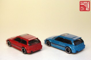 Hot Wheels Honda Civic EF rear