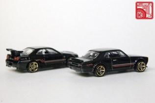 Hot Wheels Then & Now Nissan Skyline hakosuka R34 GTR