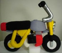 Rocket Craft plush Honda Monkey