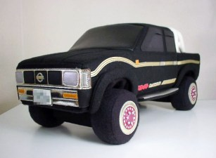 Rocket Craft plush Nissan Hardbody D21