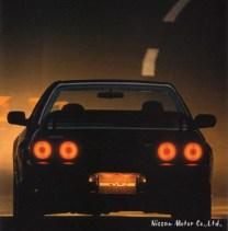 12 Nissan Skyline R32 GTR catalog 1993-02