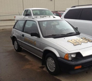 1985 Honda Civic 2