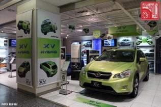 Subaru Showroom 2013 XV Hybrid