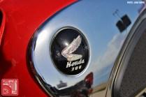 0293-JR1289_Honda CB77 SuperHawk Logo