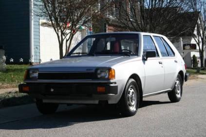 1983 Dodge Colt Twin-Stick Mitsubishi Mirage 06