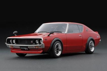 Ignition Models Nissan Skyline KPGC110 red front