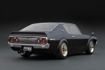 Ignition Models Nissan Skyline kenmeri black rear