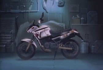 You're Under Arrest - Yamaha Police Bike