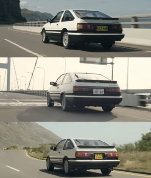 Toyota AE86 Corolla Levin The World is One
