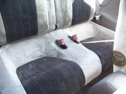 1990 Eagle Talon TSi AWD 13 back seat