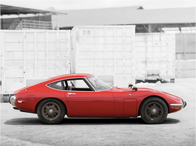 1967 Toyota 2000GT Monterey RM Auction 04