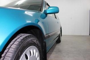1991 Honda Civic Si Tahitian Green 13