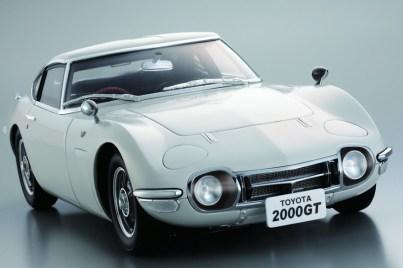 DiAgostini Toyota 2000GT subscription model