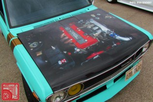Datsun 510 Sedan Hood Team_Nostalgic Chicago