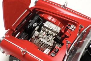 Tamiya Honda S600 model kit engine