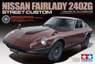 Tamiya Nissan Fairlady 240ZG model kit