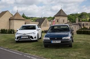 Toyota UK 50th Anniversary 27 Avensis & Carina E