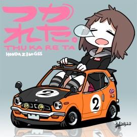 U井T吾 Honda Z