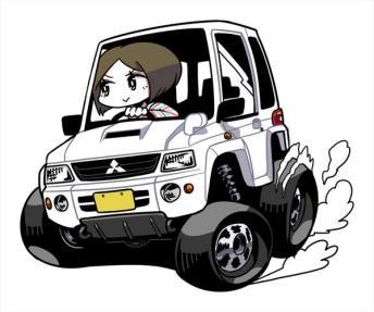 U井T吾 Mitsubishi Pajero Mini