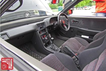 Honda CRX Si RHD Interior Team_Nostalgic Chicago