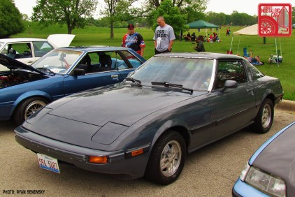 Mazda RX7 FB Front Three Quarter Team_Nostalgic Chicago