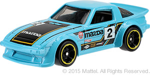 Hot Wheels Mazda RX7 SA22 KMart KDay