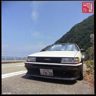 Yamagata Onsen 54 S2-455 Toyota AE86 Corolla Levin