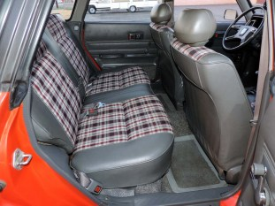Back Seat EA81 Wagon