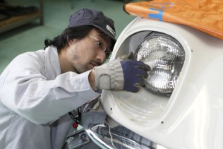 Mazda Cosmo Sport Hiroshima high school restoration 11
