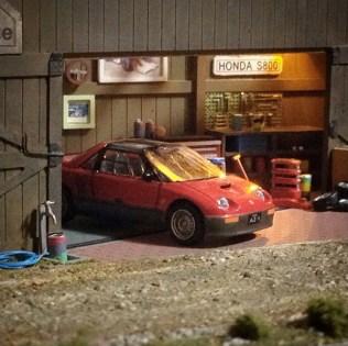 Takupon0816_Mazda Autozam AZ-1 diorama